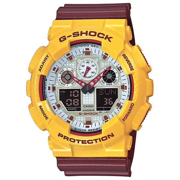 【G-SHOCK】GA-100CS-9AJF