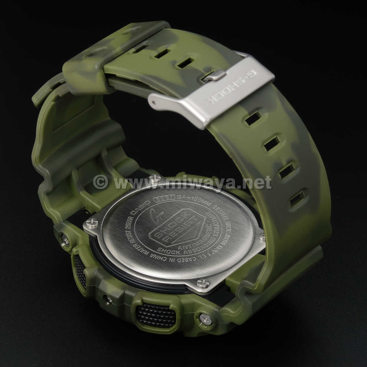 【G-SHOCK】GA-100MM-3AJF