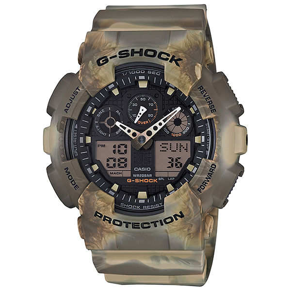 【G-SHOCK】GA-100MM-5AJF