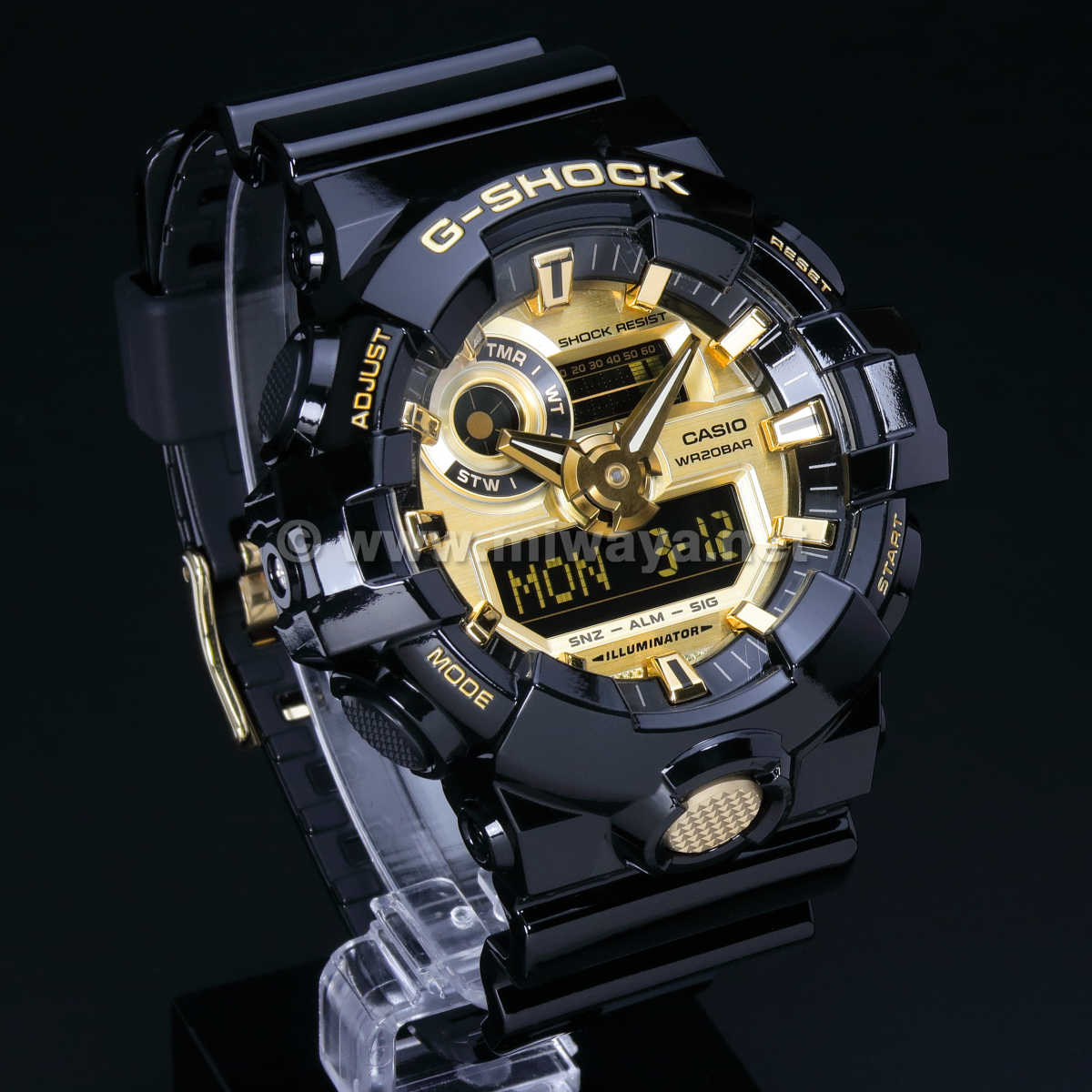 【G-SHOCK】GA-710GB-1AJF