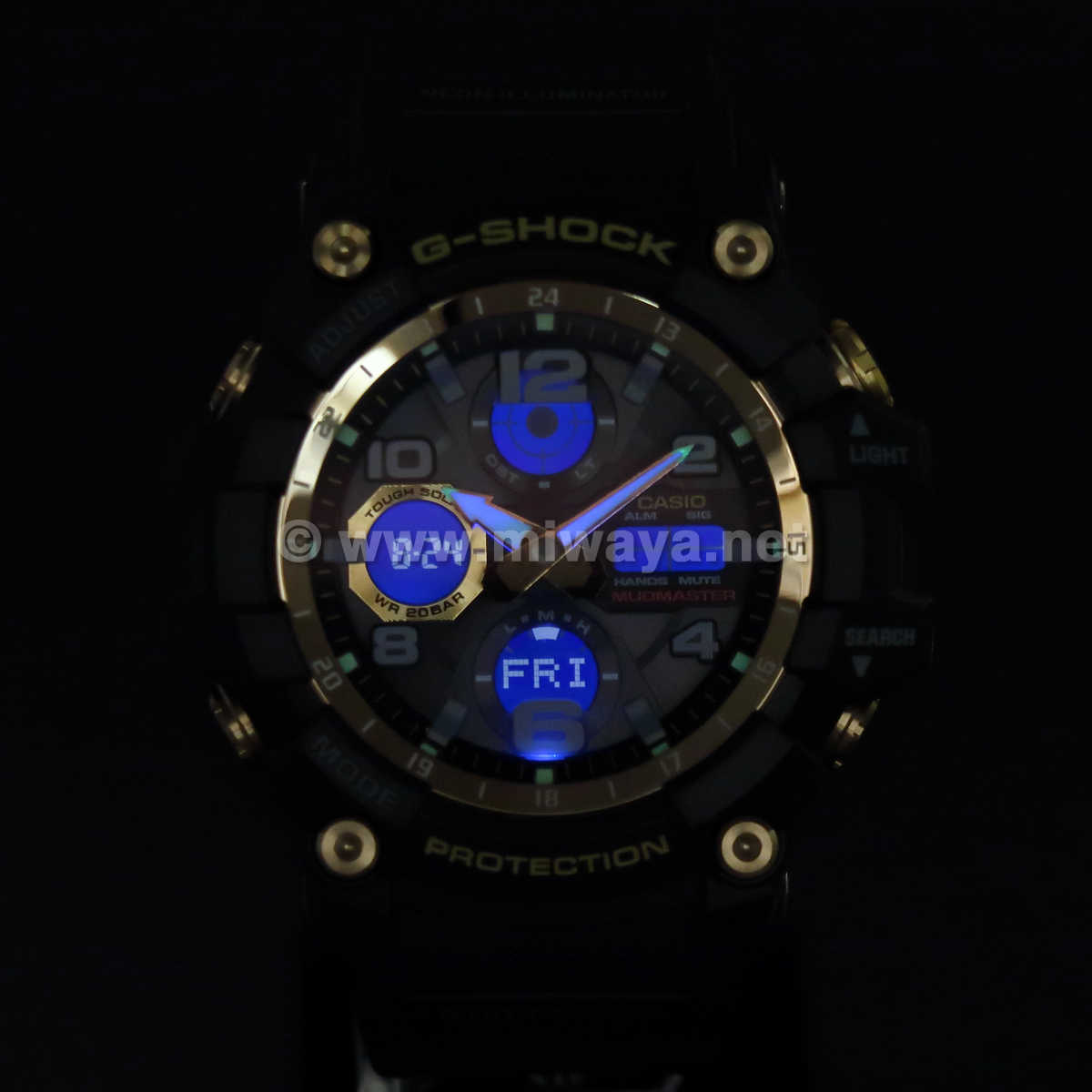 【G-SHOCK】GWG-100GB-1AJF